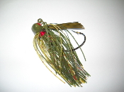 Football Jigs with a EWG Hook