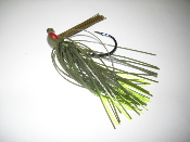 Flipping Jigs with a Heavy Wire Hook, Arkie Head