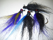 1/8oz Craft Hair Football  Finesse Jig
